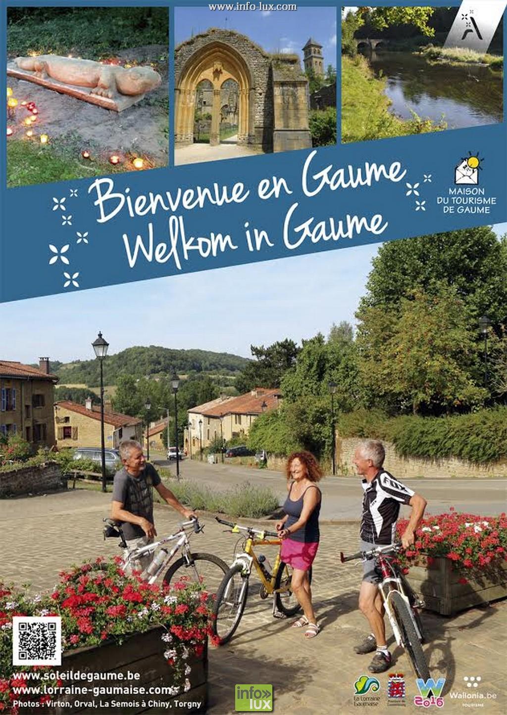 Le nouveau livret touristique de Gaume est sortit.