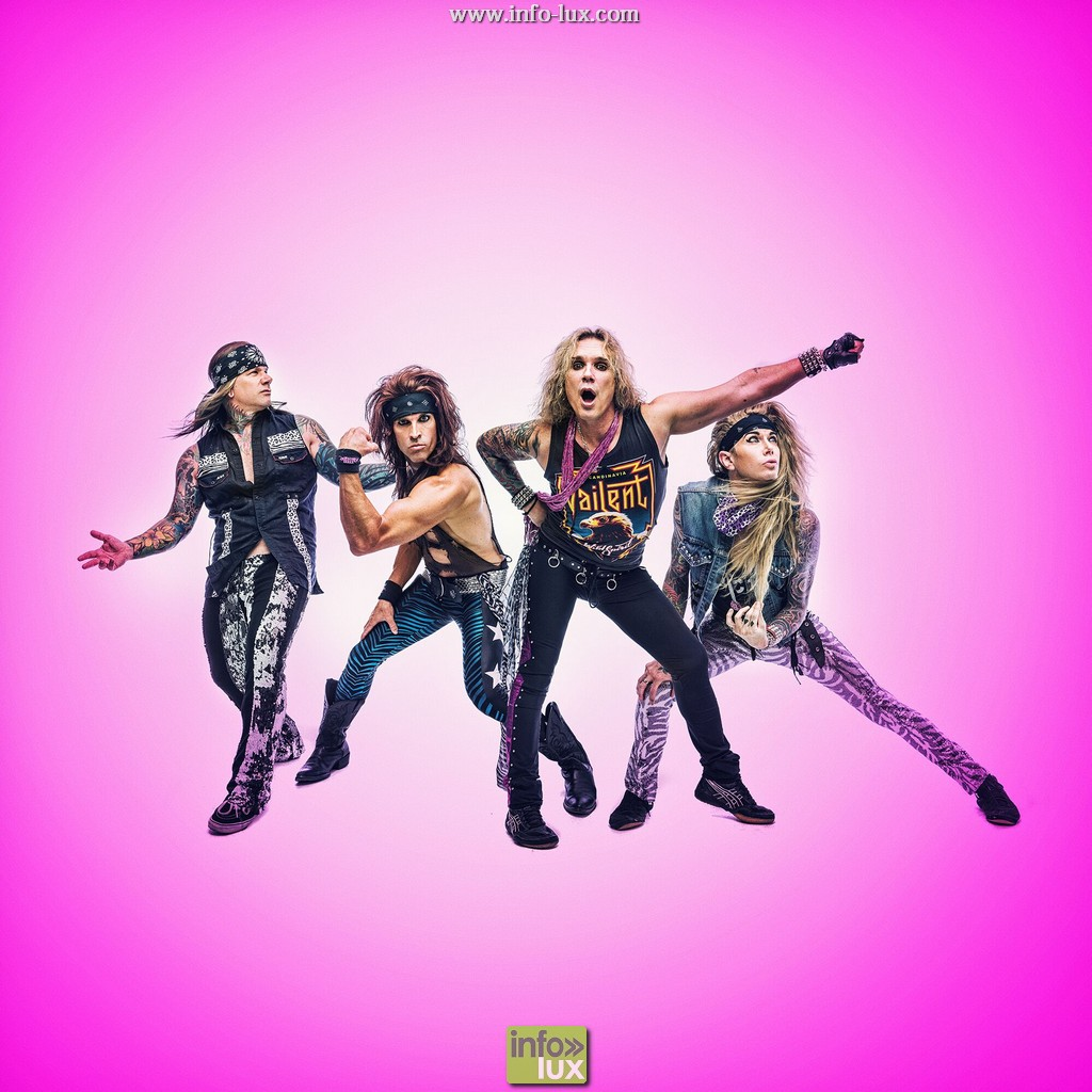 Steel panther – Rockhal Luxembourg