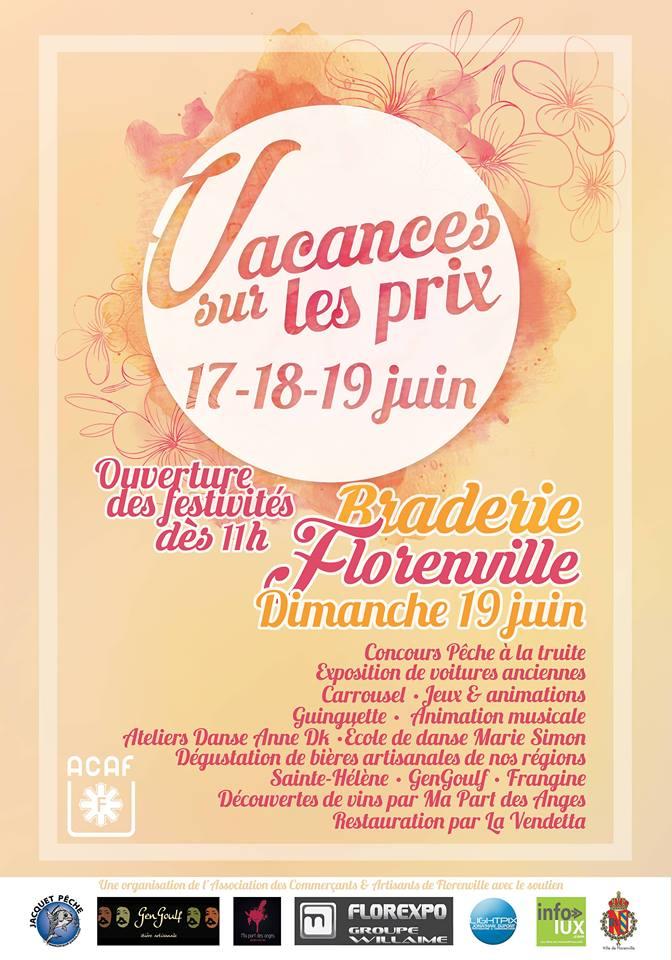 Braderie Florenville 2016