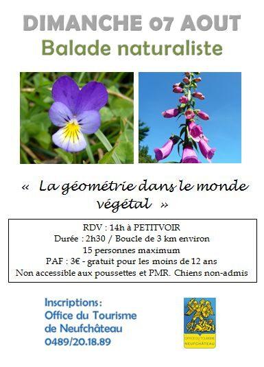 Neufchateau : balade naturiste