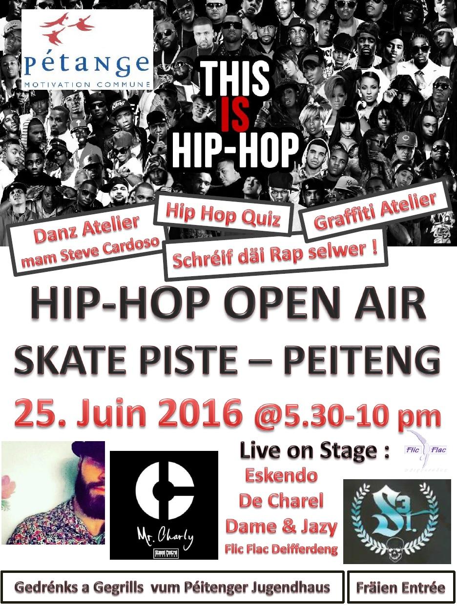 Hip hop Open Air à Pétange (LU)