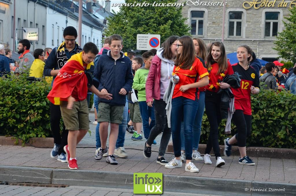 Photos du Macth Belgique-Hongrie à Bertrix
