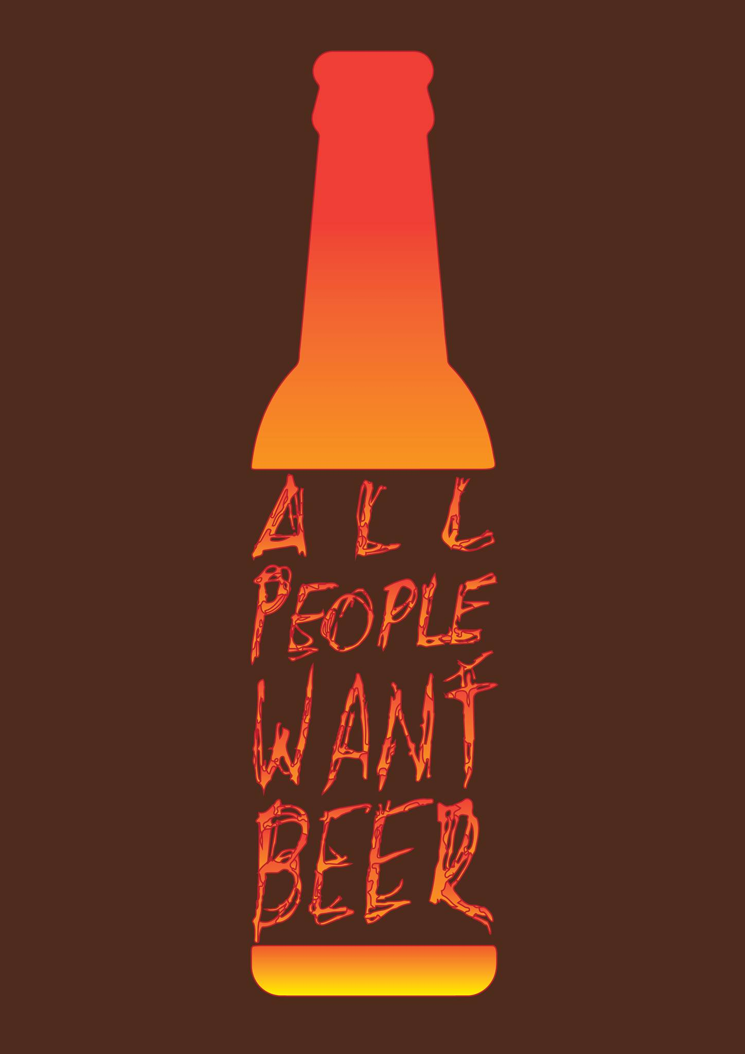 Molinfaing : All people want beer – Vernissage