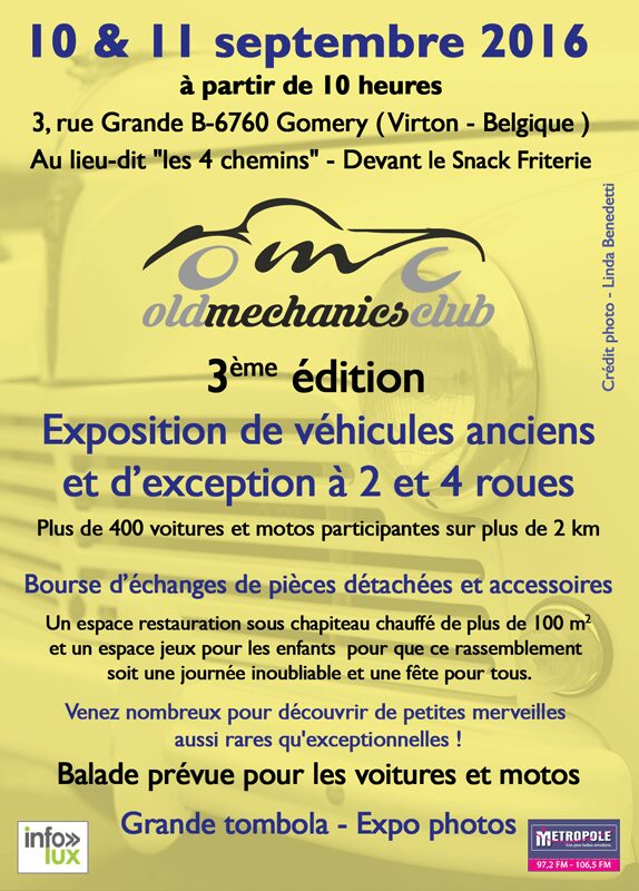 Exposition de véhicules anciens à Gomery (Virton)