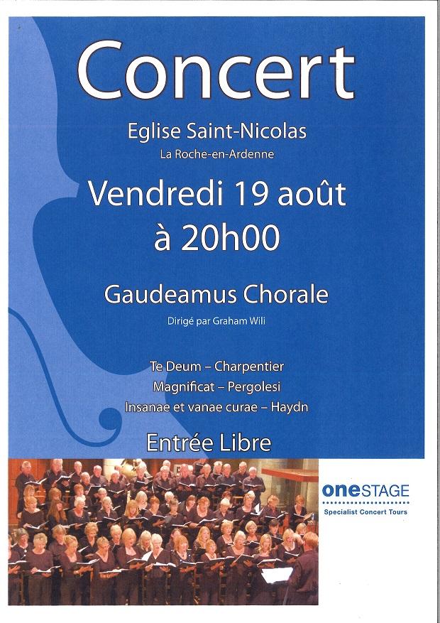 Concert à La Roche