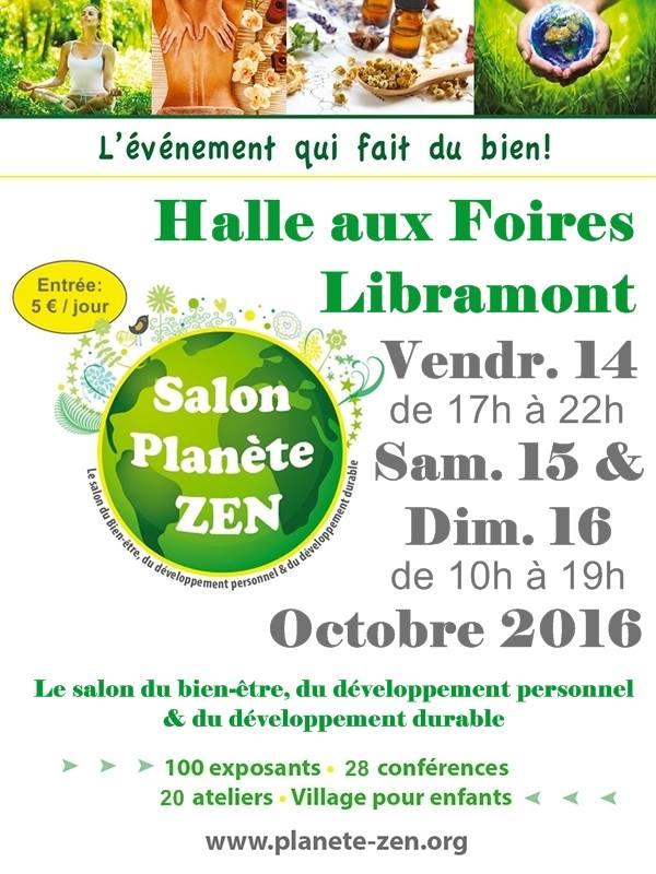 Libramont : planète Zen 14-15-16 oct 16