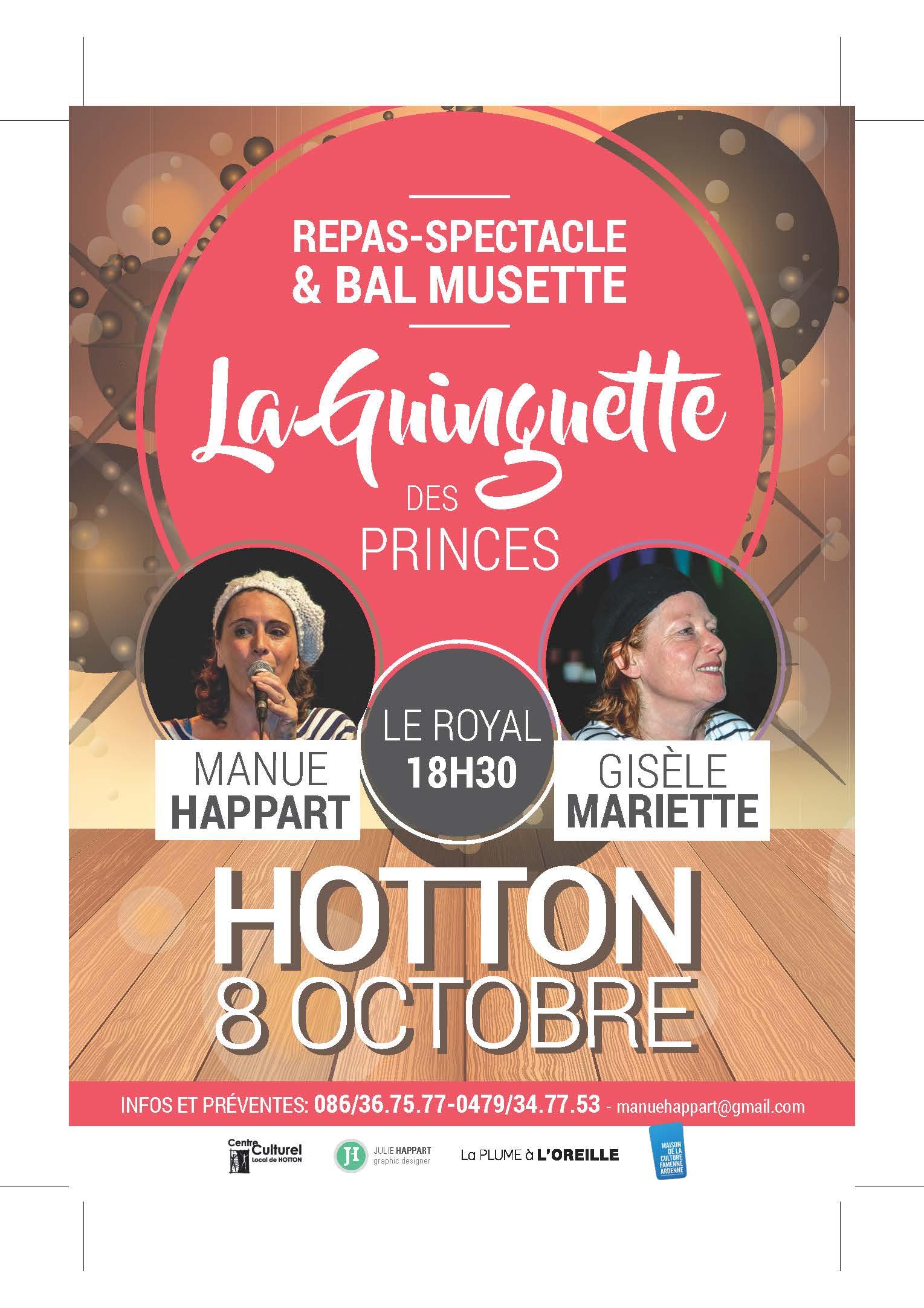 LA GUINGUETTE DES PRINCES » de Hotton.