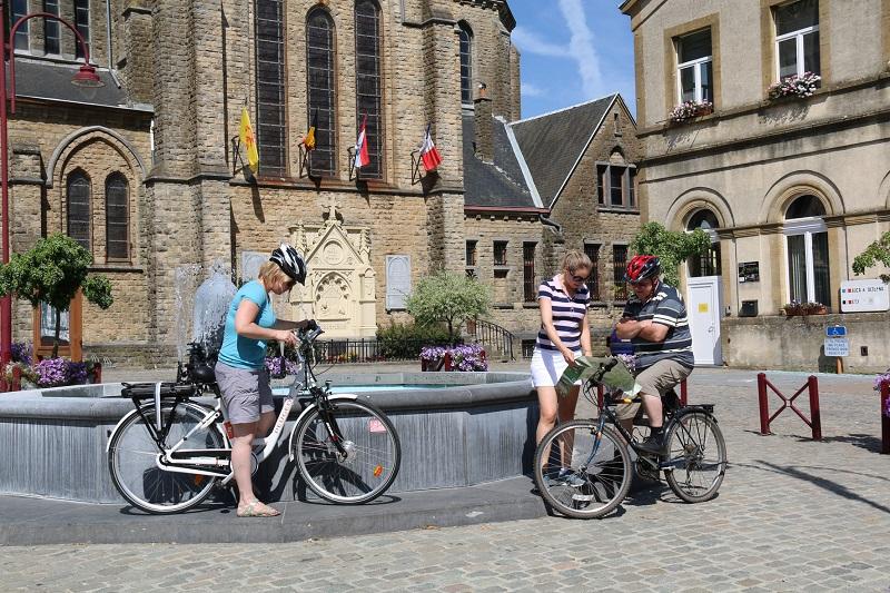 Circuits à vélo chaussée romaine en Lorraine belge