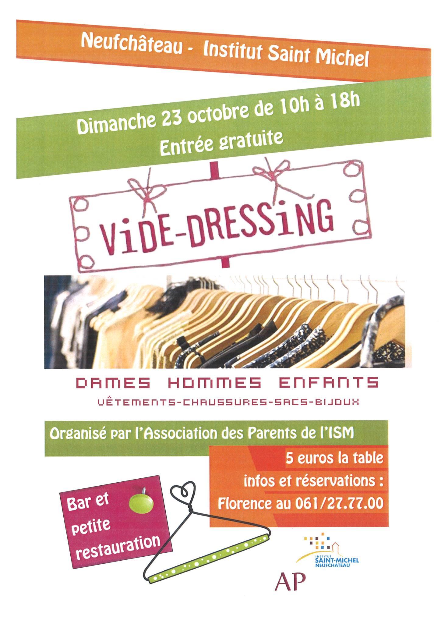 Neufchateau : vide-dressing à l'Institut Saint Michel