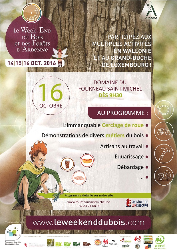 Week-end du bois à Saint-Hubert