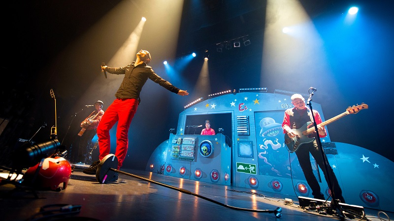 Concert rock à Arlon