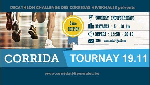 Corridas hivernales : Tournay