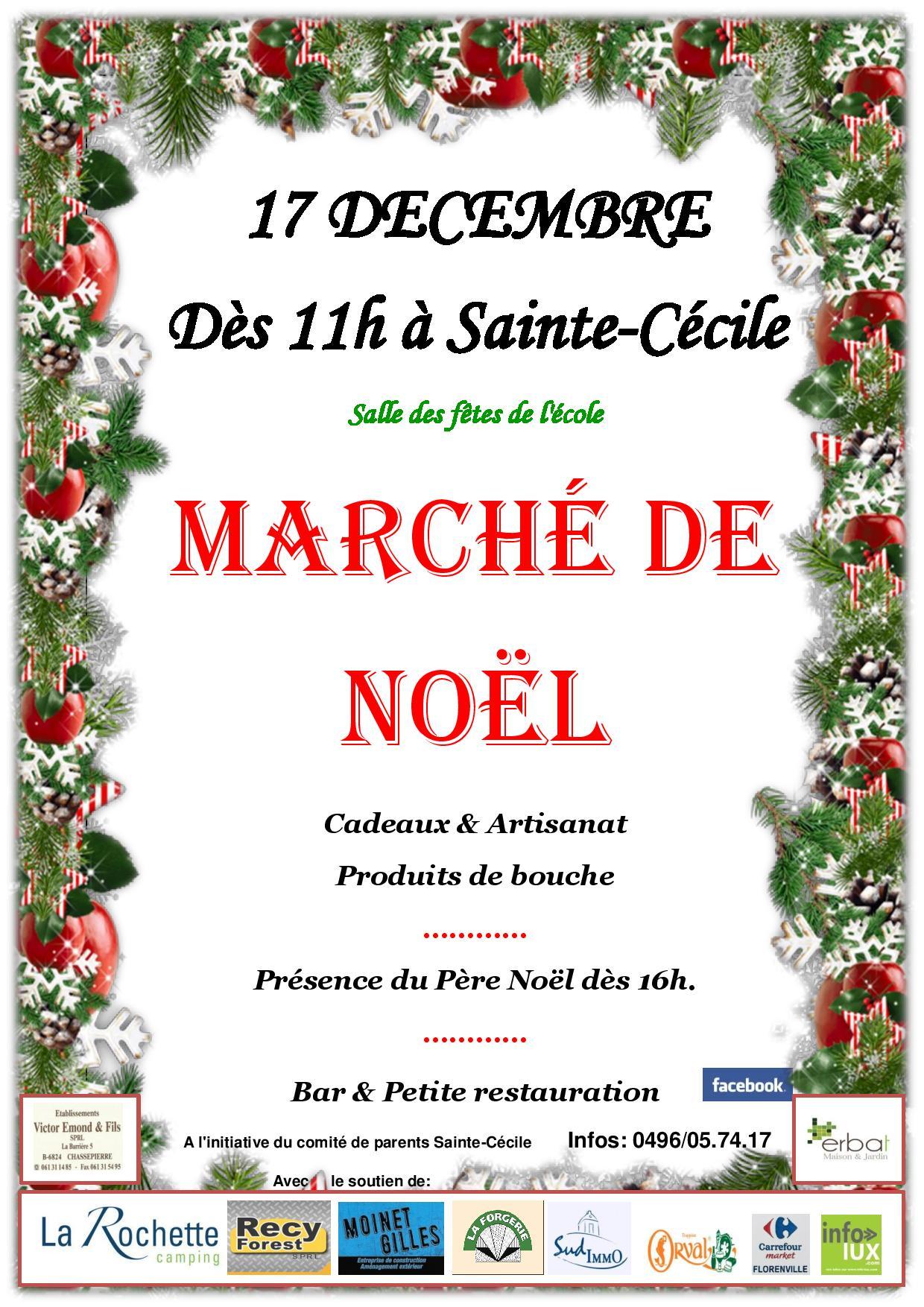 Marché de Noël à Sainte-Cécile