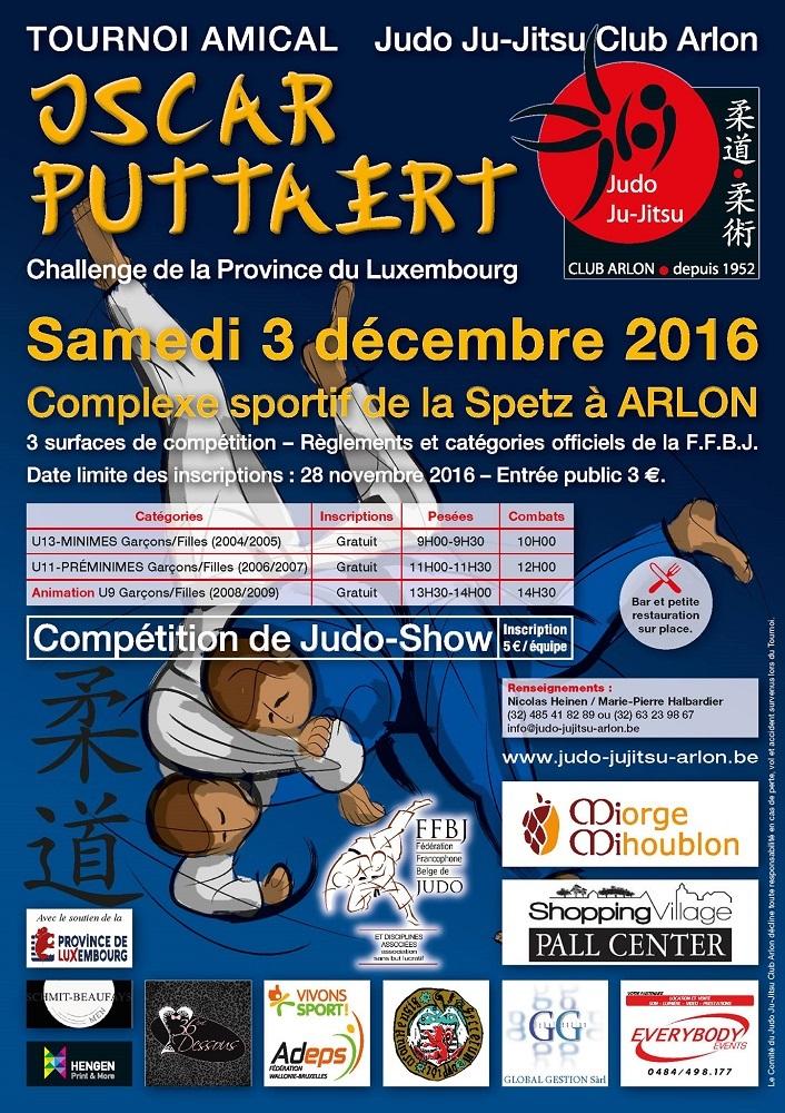 Tournoi de Judo à Arlon