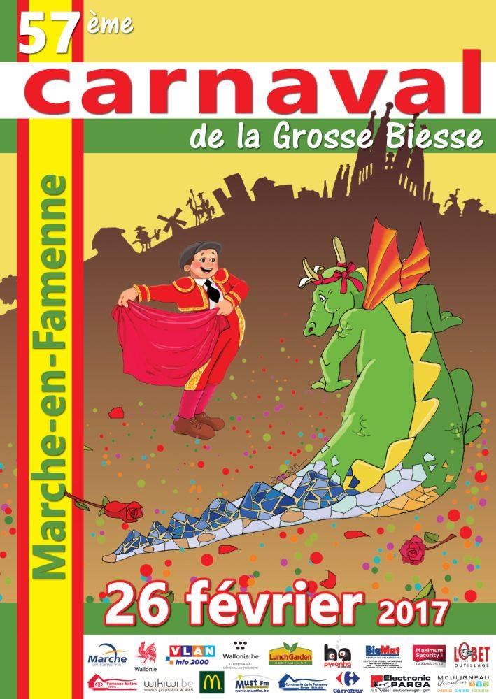 carnaval 2017 à Marche-en-Famenne