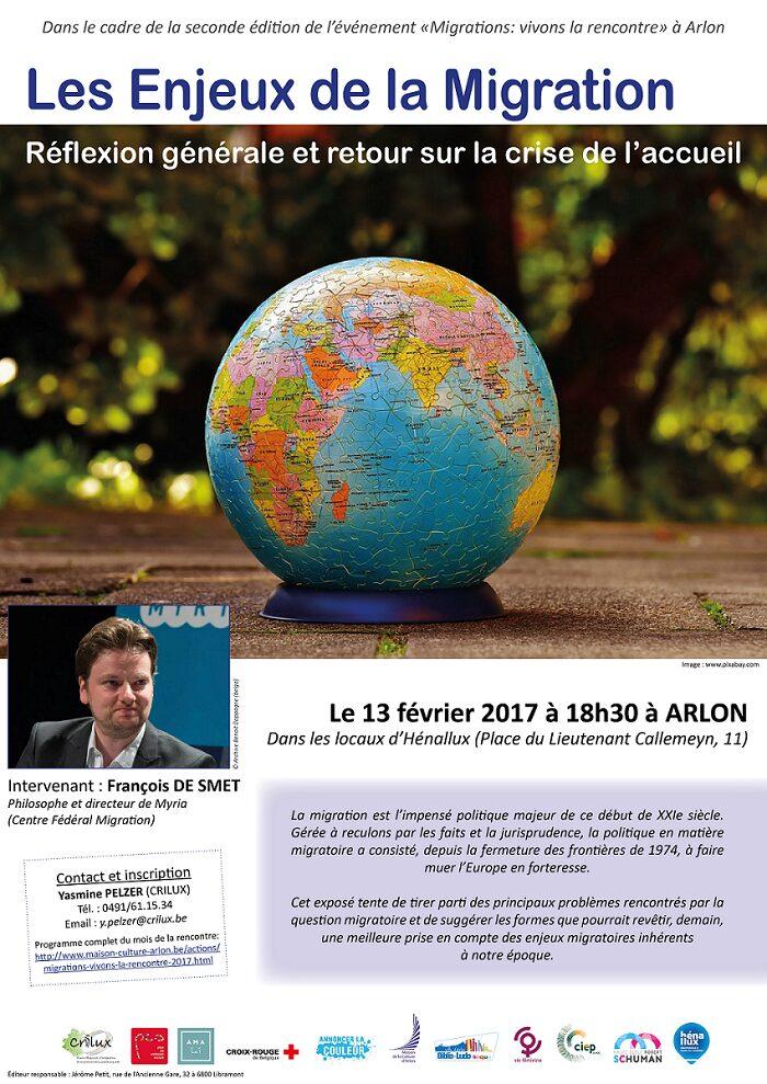 Conférence à Arlon sur les enjeux de la migration