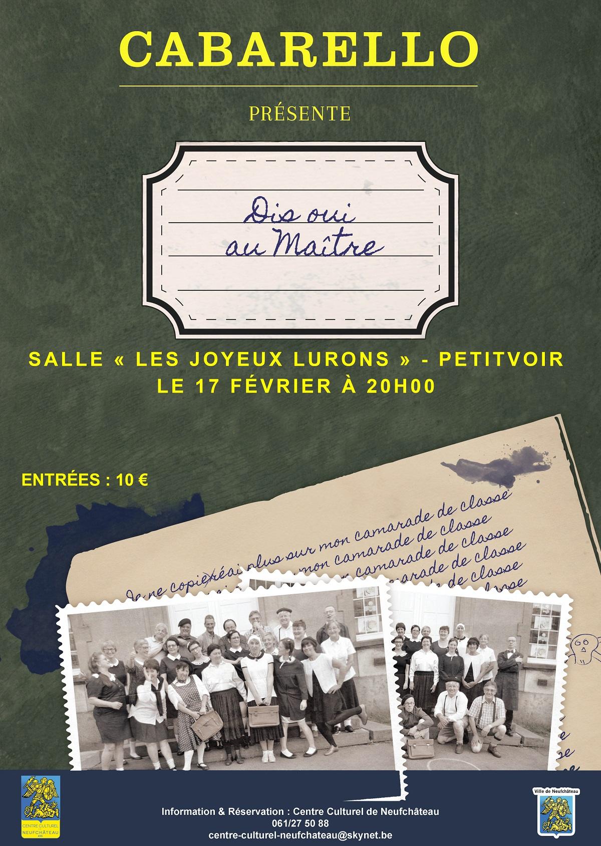 neufchateau theatre cabarello