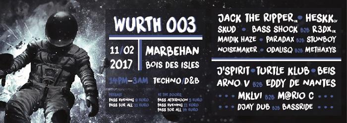 Soirée Techno et Drum and Bass à Marbehan