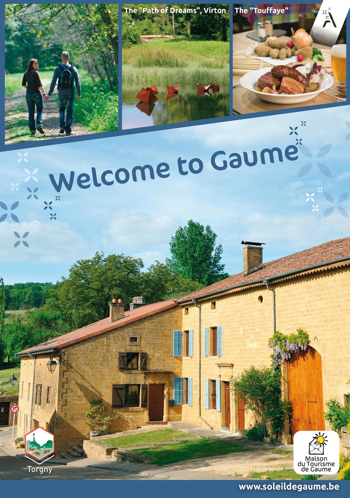 Le guide touristique de la Gaume en anglais