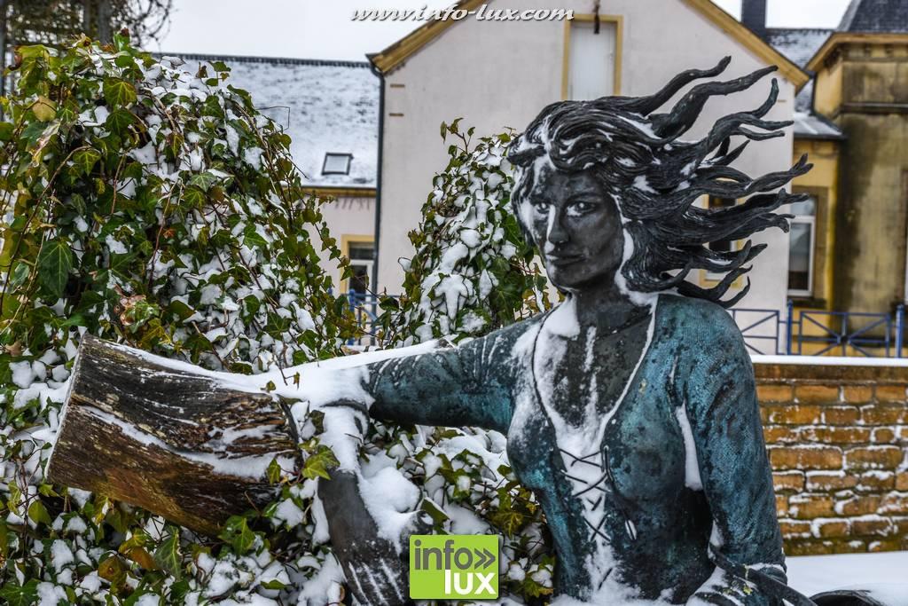 Florenville sous la neige