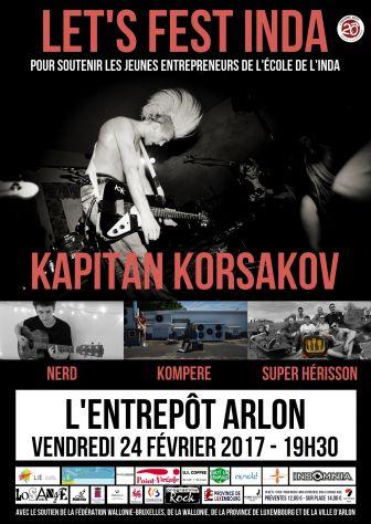 Concert à l'entrepôt à Arlon