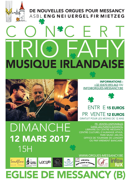 Musique Irlandaise à Messancy