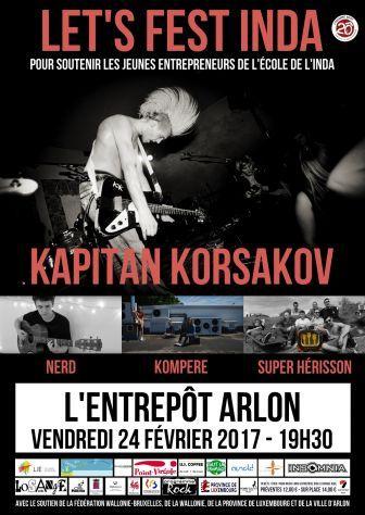 Let's Fest INDA à l'Entrepôt d'Arlon