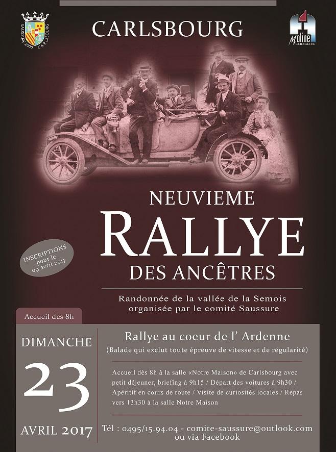 Rallye Ancêtres à Carlsbourg