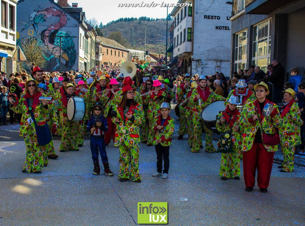 Carnaval de la Roche-en-ardenne 2017  Le cortège