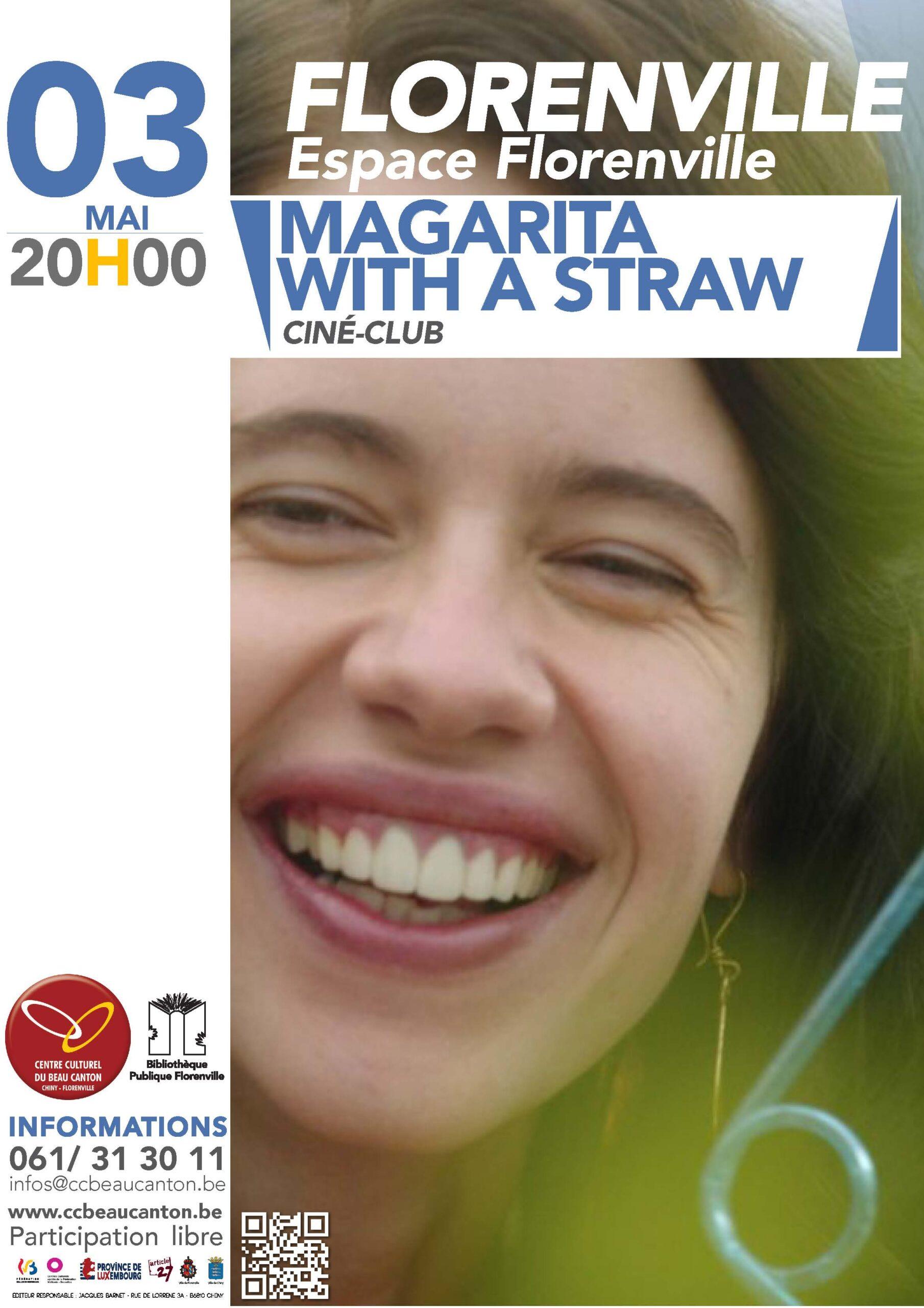 CINE-CLUB : MAGARITA IN THE STRAW – L'amour malgré le handicap à Florenville