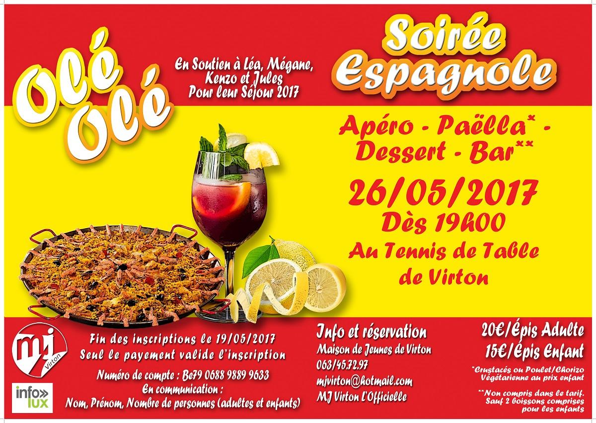 Souper espagnol à virton ( MJ  de Virton )