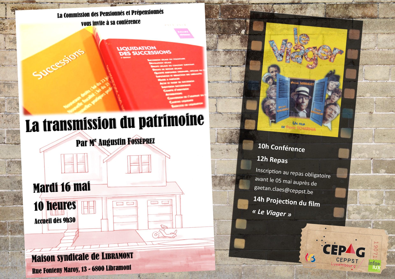 La transmission du patrimoine à Libramont