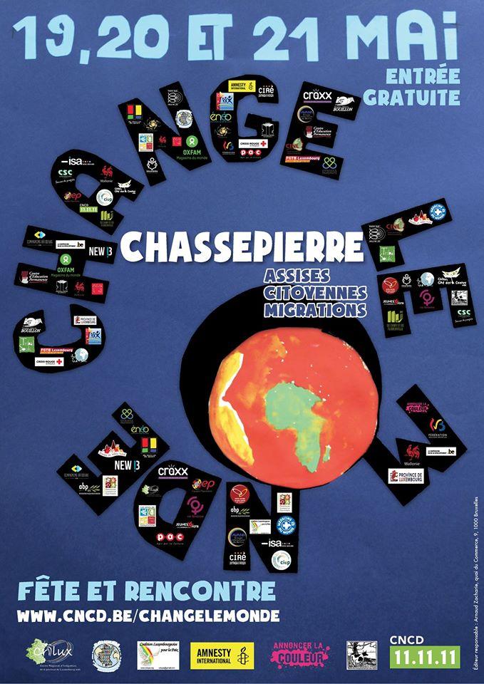 Un beau week-end festif et citoyen à Chassepierre