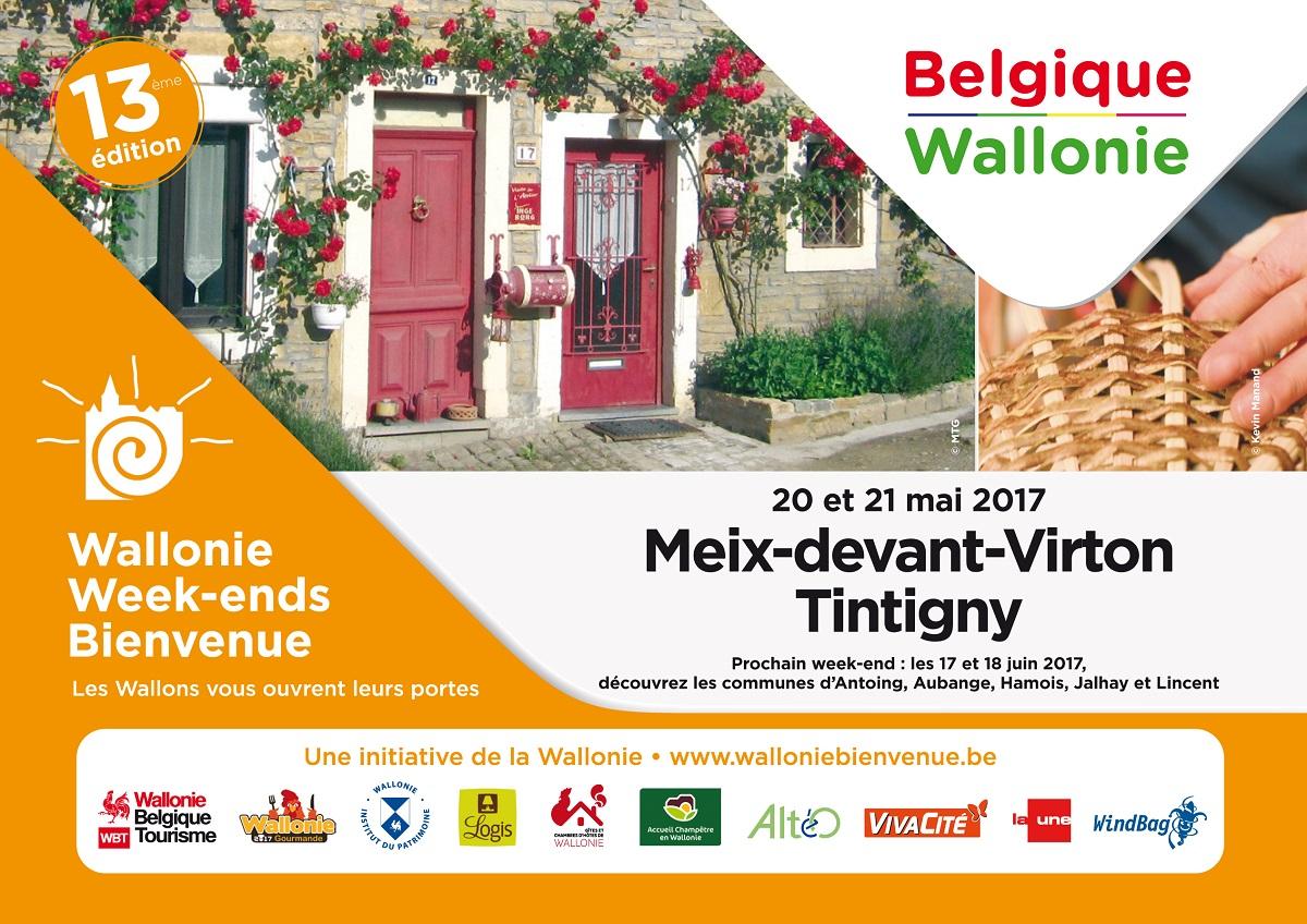 Week-end Bienvenue en Wallonie : Meix-devant-Virton et Tintigny