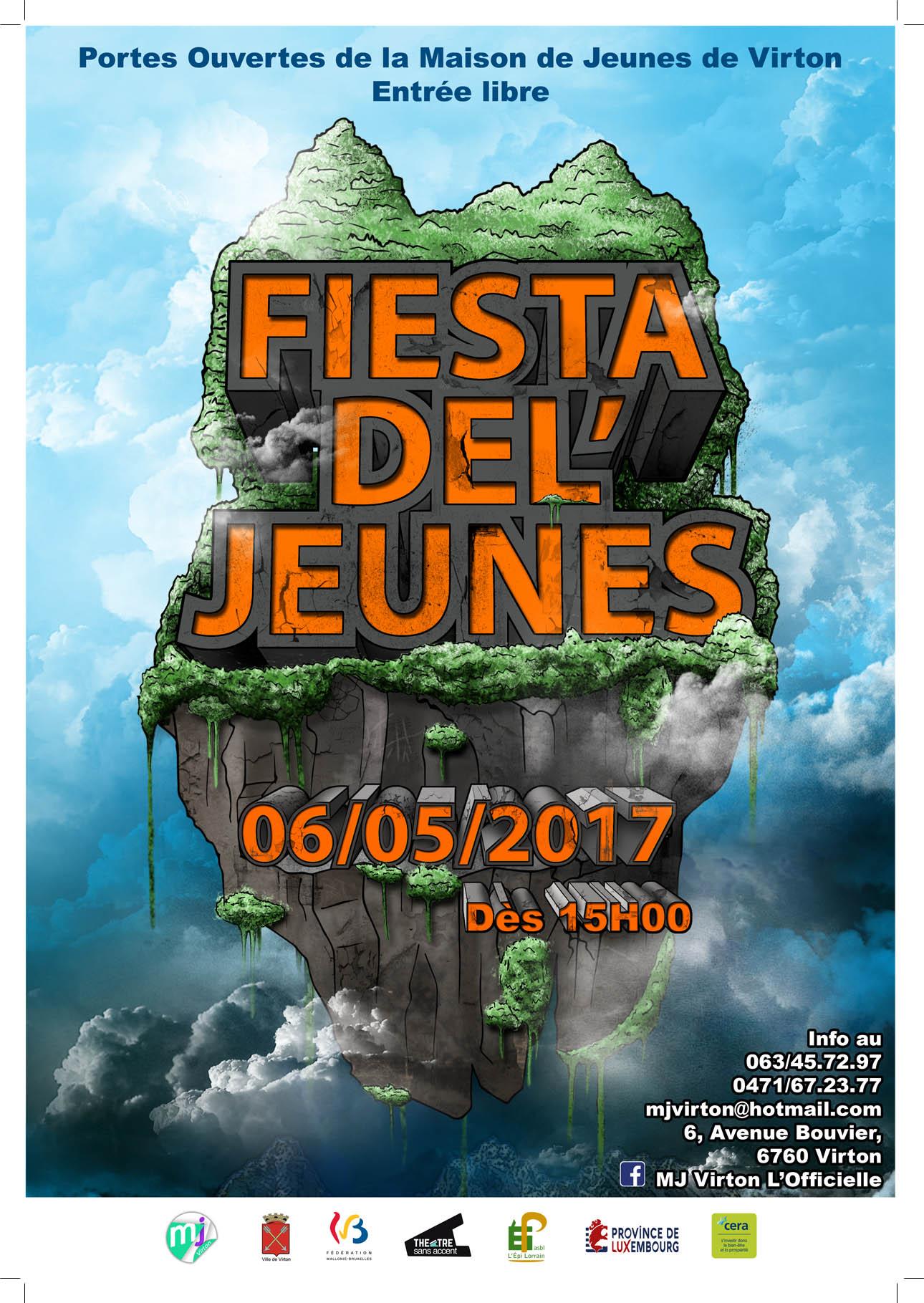 la « Fiesta Del'Jeunes » à Virton