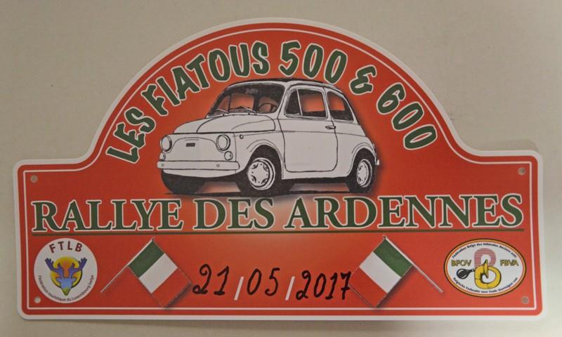Balade des Ardennes en anciennes FIAT 500 & 600
