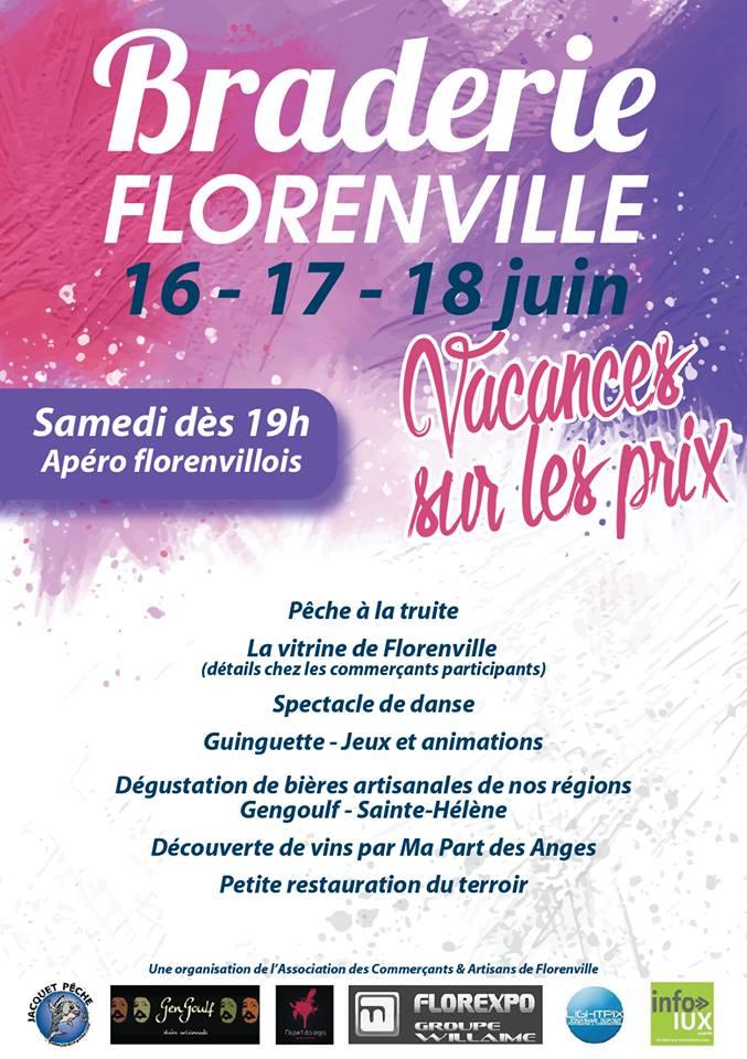 Braderie Florenville 2017
