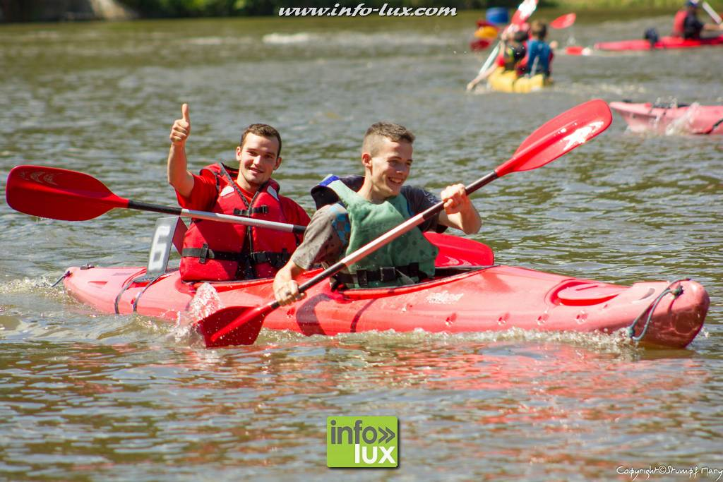 Course de  Kayaks à Neufchâteau.