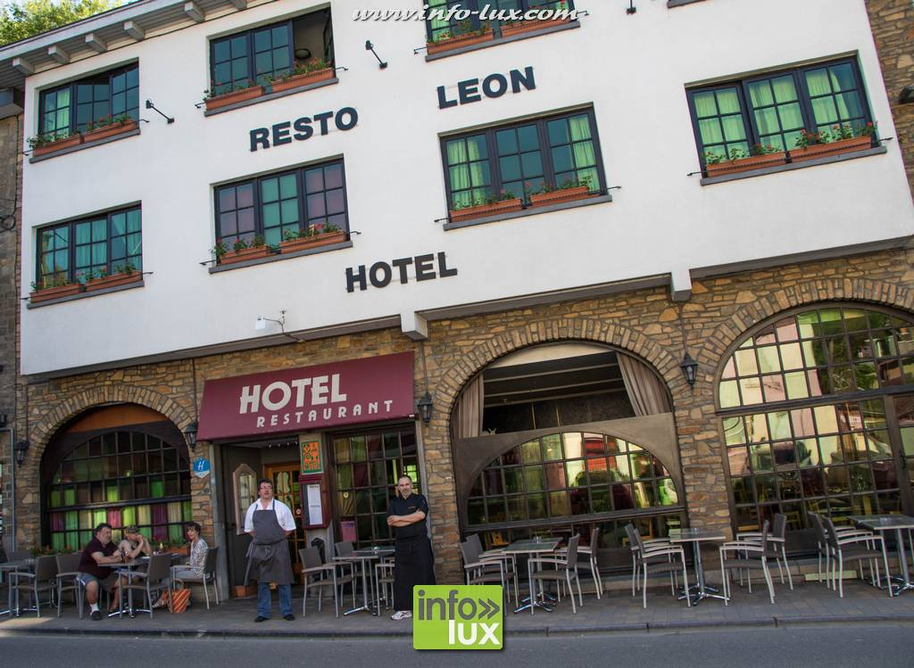Hotel Restaurant «Léon». La Roche-en-Ardenne