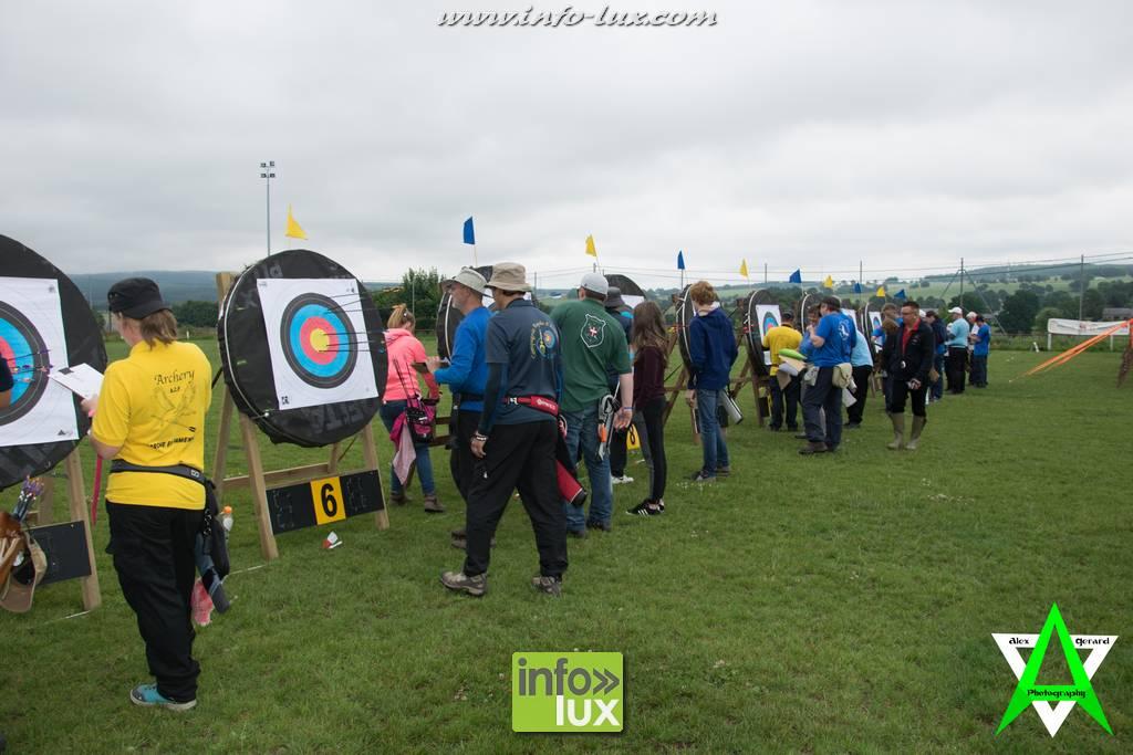 Compétition de tir à l'arc organisée par le club de Vielsam