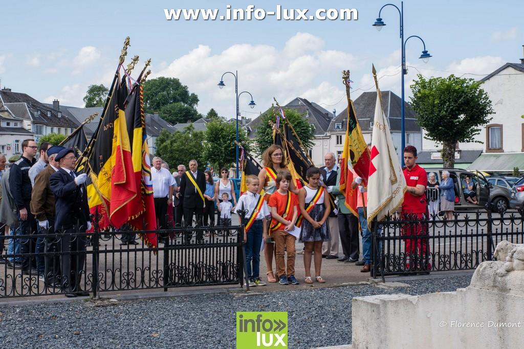 Commémoration du 21 juillet à Florenville