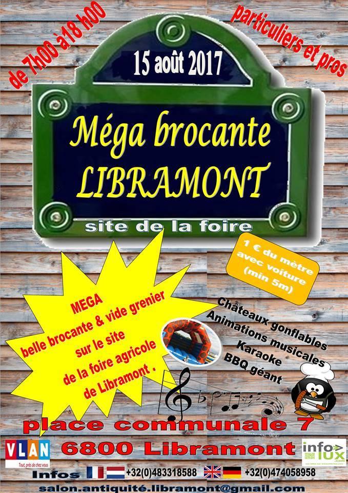 Brocante du 15 août à Libramont