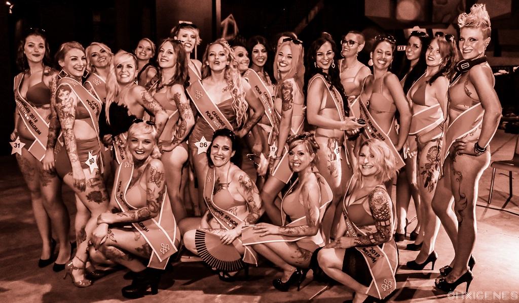 Demi -finale Miss & Mister Tattoo Belgium