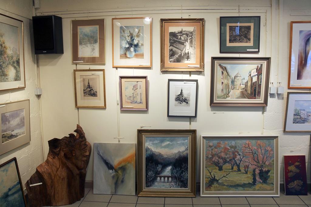 5e exposition/vente « Cadeaux d'hiver/divers » à Virton