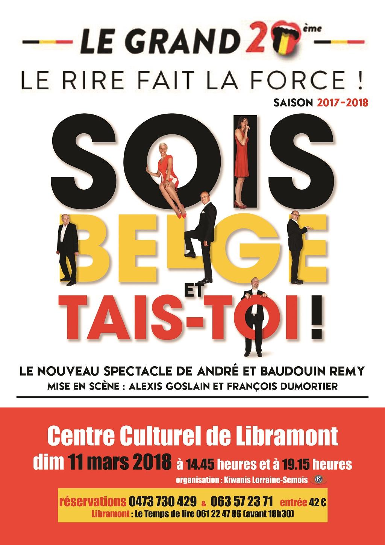 Sois Belge et tais-toi à Libramont