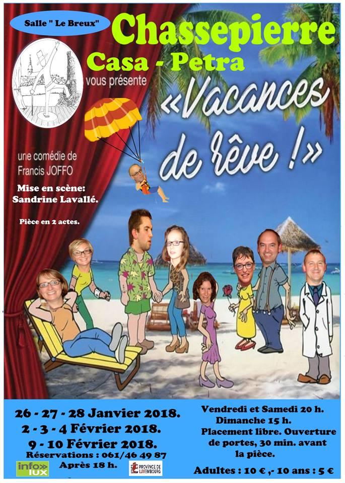 Vacances de Rêve à Chassepierre