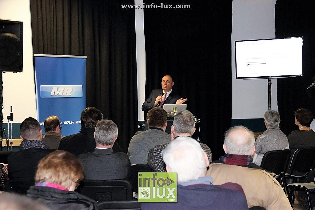 Le Ministre-Président, Willy Borsus, a tenu une conférence à Florenville sur le développement économique et bonne gouvernance de la Wallonie