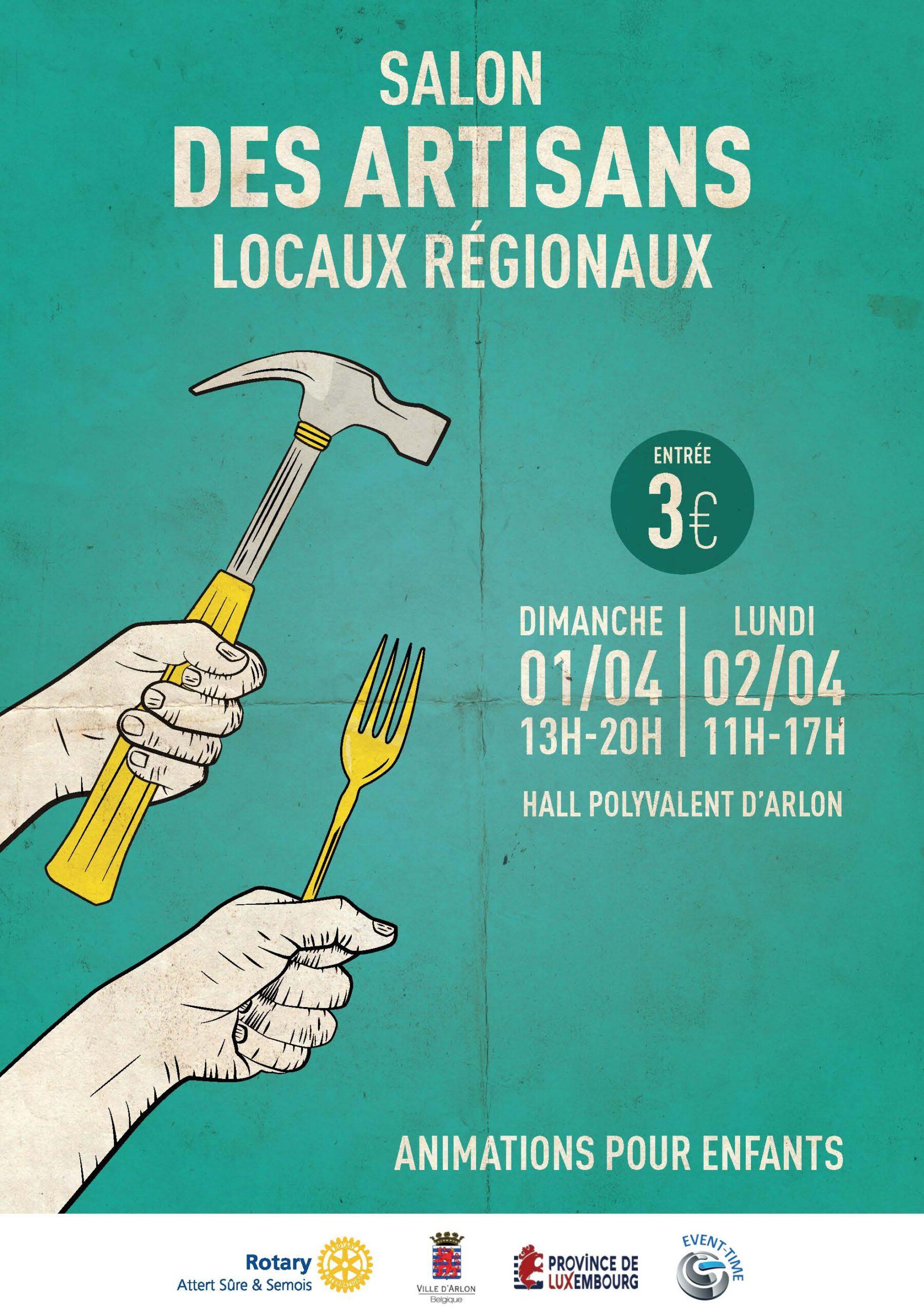 SALON DES BRASSEURS & DES ARTISANS LOCAUX à Arlon