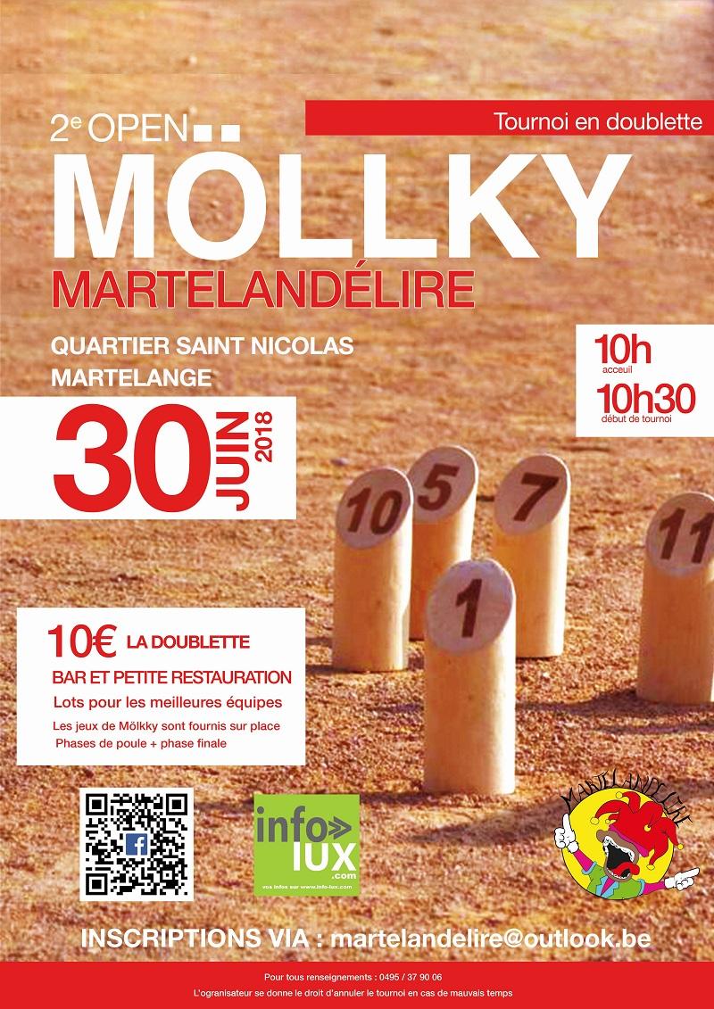 Open de Mölkky Martelandélire – Martelange