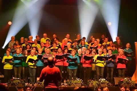 Choristes de la Chanterelle et du Bois Joli en Concert